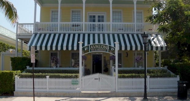 Avalon Bed & Breakfast Inn, Key West. See more at  AboutFantasyFest.com