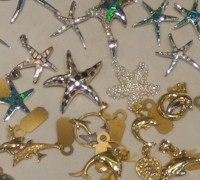 Charms at jewelry stores in #keywest.  AboutFantasyFest.com