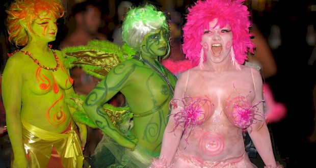 Fantasia grupo Fest Body Paint.