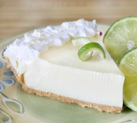 Key Lime Pie #keywest.  AboutFantasyFest.com