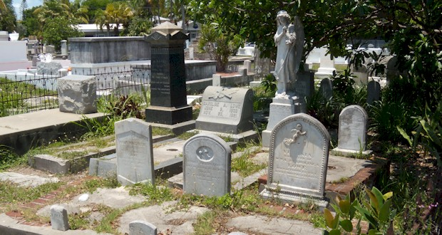 Key West Cemetery. See more at  AboutFantasyFest.com